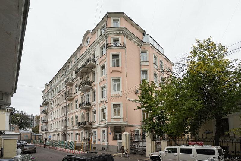Жилой дом, 1903 год. Архитектор И.Г. Кондратенко.