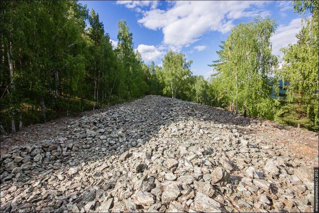 Французская гора. Таловский асбестовый рудник «Изолятор»