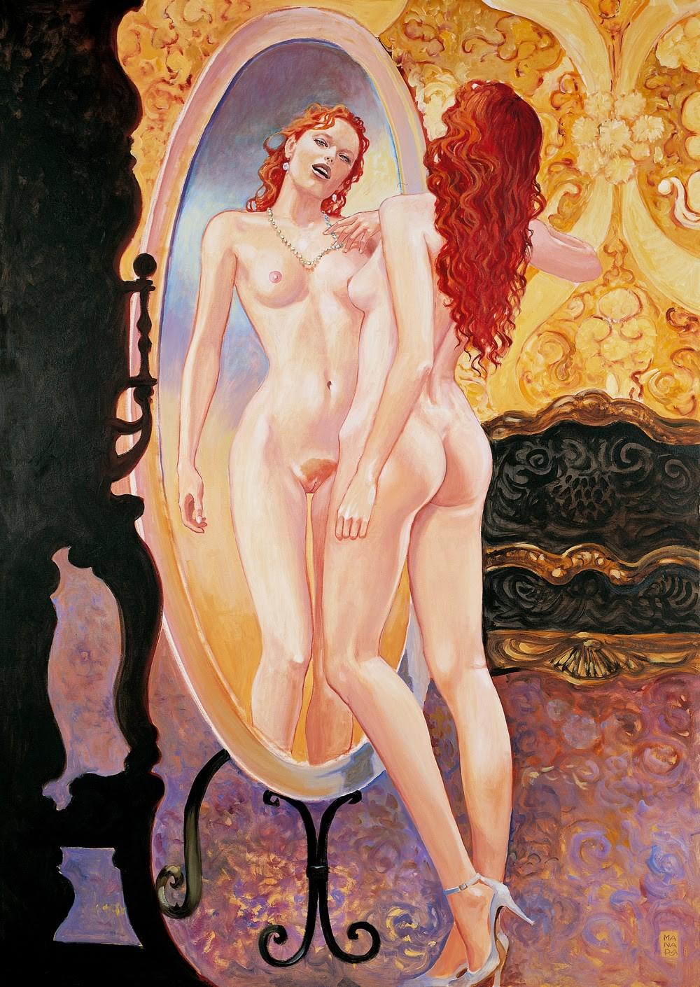 Эротические рисунки итальянских художников
