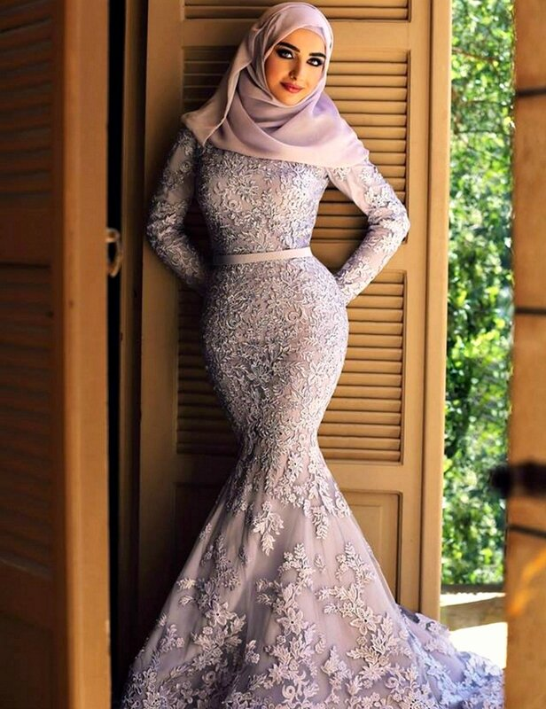 Мусульманские платья вечерние