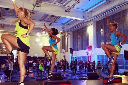 В России провели ночь посвященную фитнесу
