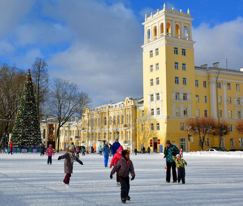 Зимний день в Смоленске