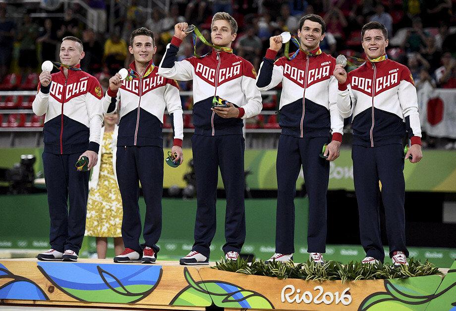 Сборная России по спортивной гимна
