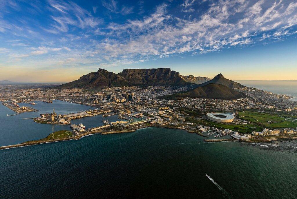 Кейптаун на побережье Атлантического океана