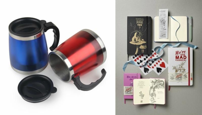Идеи хороших подарков: блокноты, Молескин, термокружки и другое