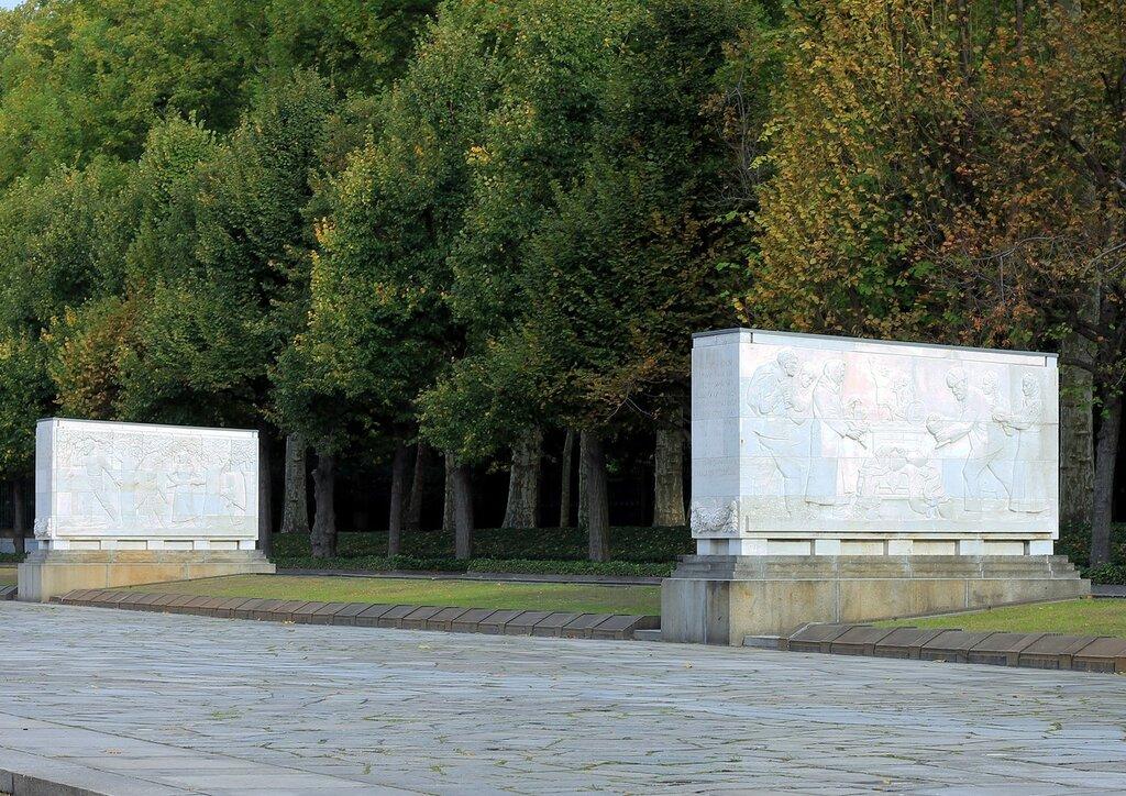 Berlin. Treptower Park in autumn