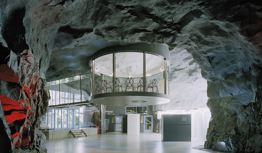 1. Ранее этот подземный бункер использовался в качестве бомбоубежища. Сегодня же здесь расположен Pi