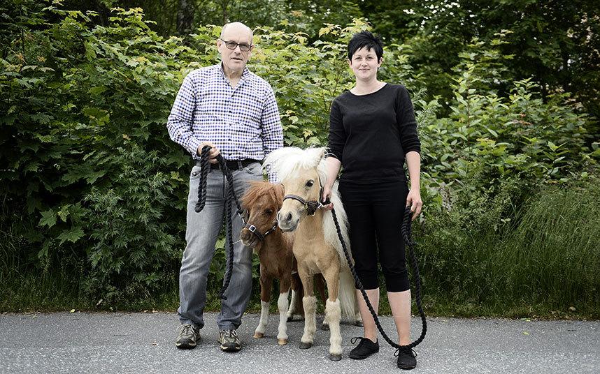 4. Владелицей пони является Тереза Сааринен, утверждающая, что не проходила никакого специального пр