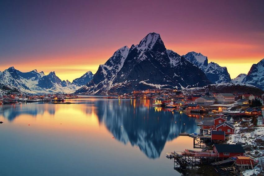 7. Лофотенские острова, Норвегия Попав на этот край света, расположенный за полярным кругом и северн