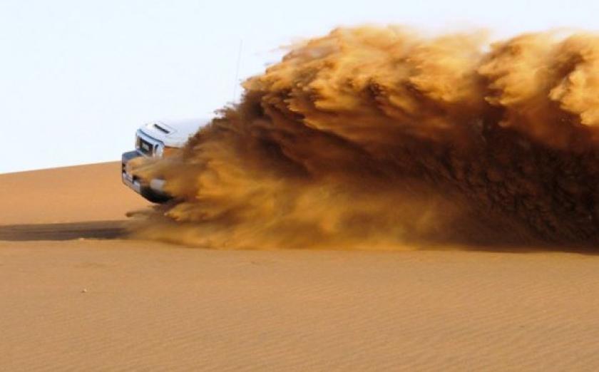 14. Дюны Раджастхана Всегда хотели побывать в пустыни, не отдаляясь сильно от цивилизации? Тогда дюн