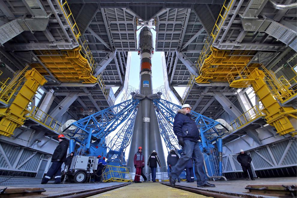 12. Поехали! 28 апреля в 5 часов 01 минуту и 21 секунду ракета Союз-2.1а стартовала с космодром