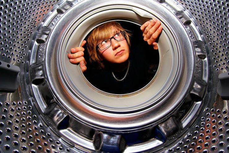 Бюджетный способ почистить стиральную машинку (1 фото)