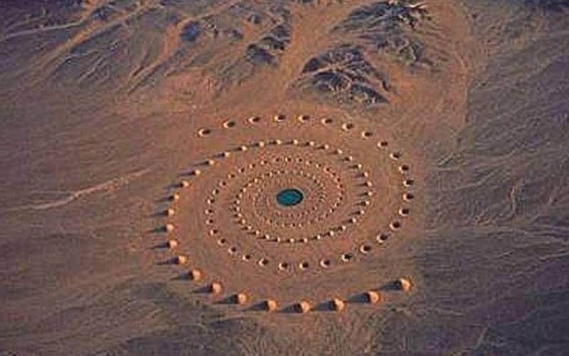 Одно из самых загадочных явлений на самом деле произошло в пустыне на Ближнем Востоке. Не было выявл