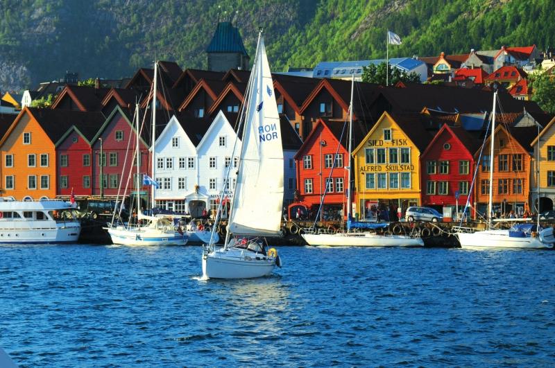 Места в Норвегии, которые нужно посетить: Берген