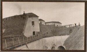Вид на укрепления форта № 1 группы Седласка.
