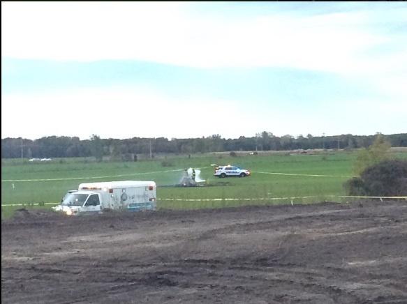 ВСША потерпел крушение вертолет