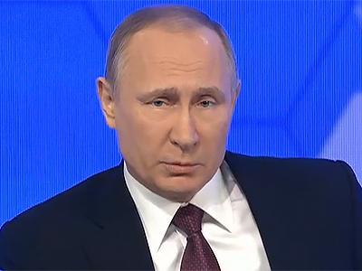 Путин назвал «жестким» вердикт заSMS овоенной технике