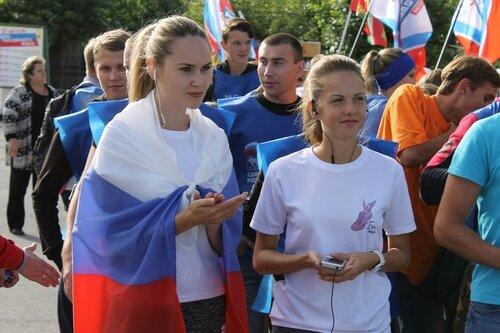 День флага-2016 в Барабинске