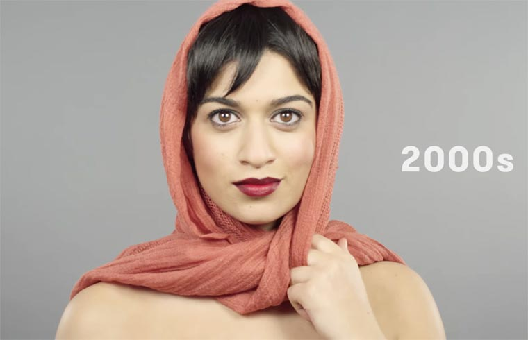 100 years of beauty in one minute – The evolution of style in Syria