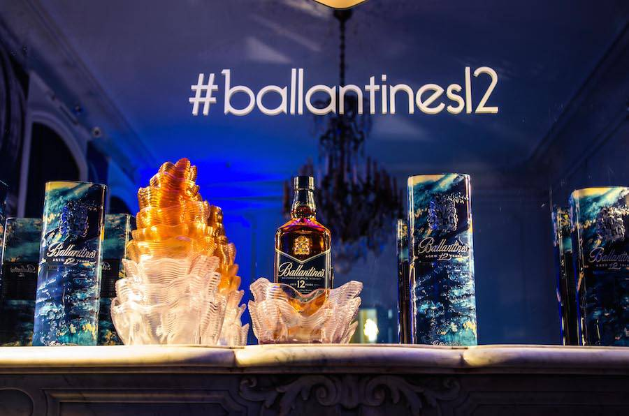 During one year and a half, Leif focused on 3 creations for the Scottish whisky brand Ballantine's.