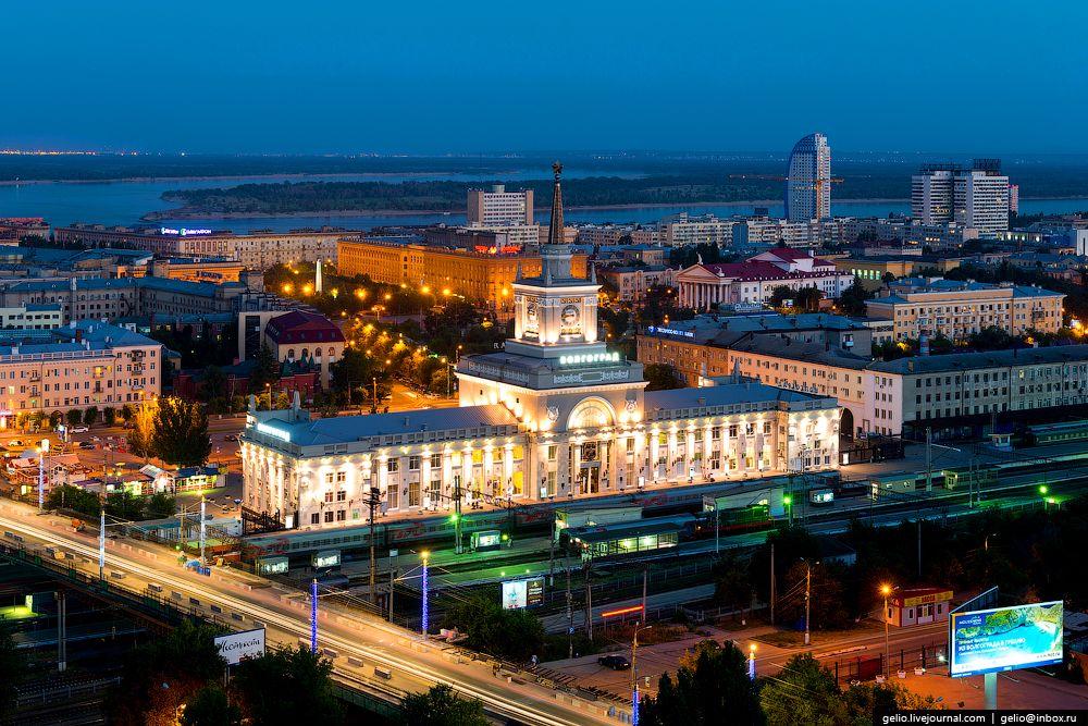 Волгоград с высоты! Красивые фотографии— панорама российского города-миллионника