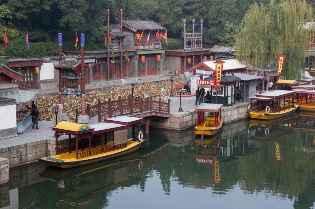 улица Сучжоу, парк Ихэюань, Пекин