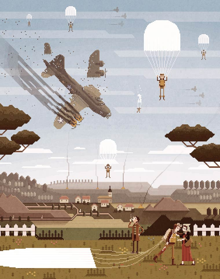 Pixelart - Les illustrations de Octavi Navarro