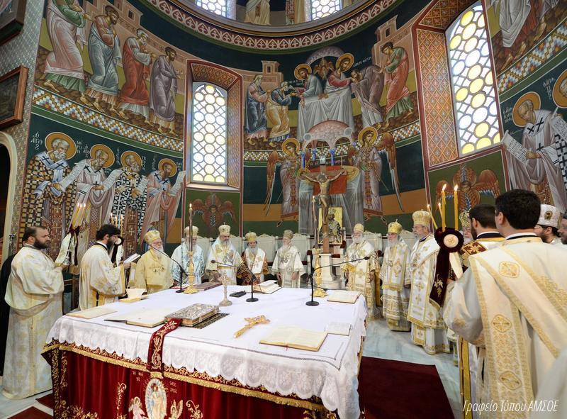 Православные христиане всего мира соединились в совместной молитве