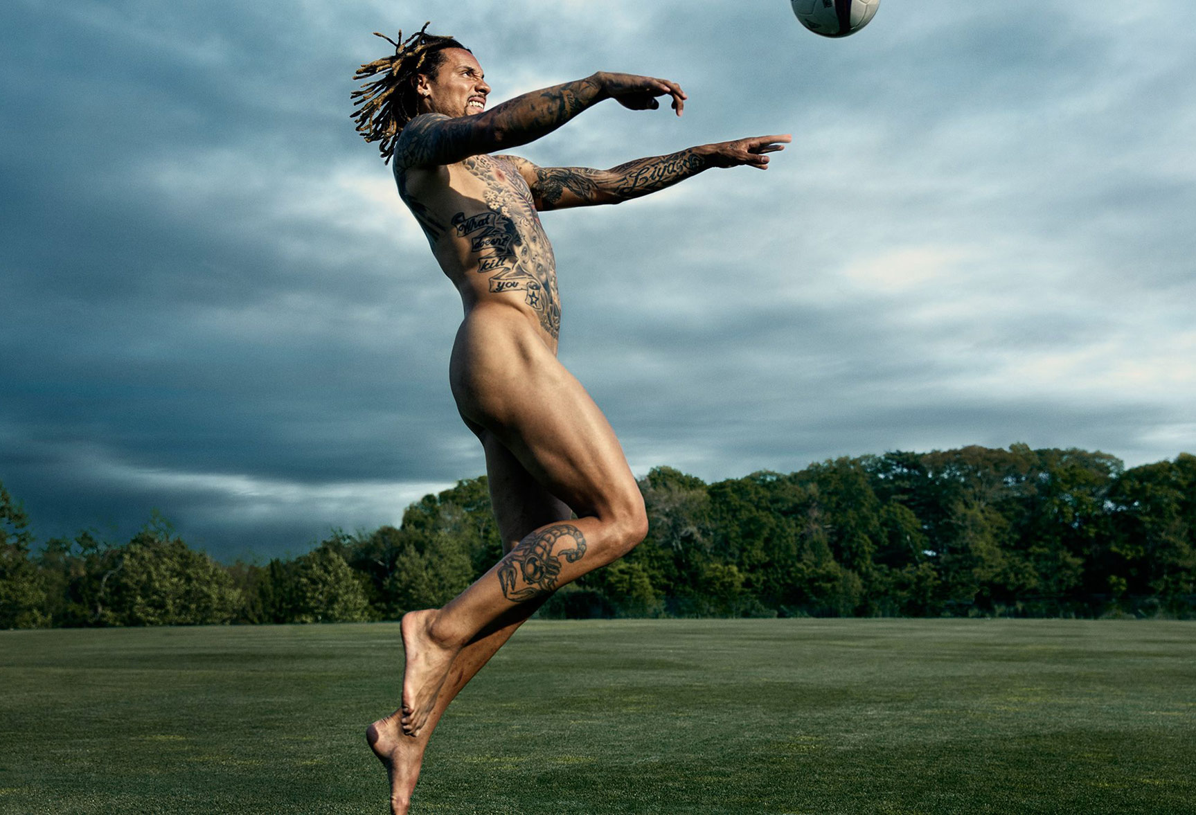 ESPN Magazine The Body Issue 2015 - Jermaine Jones / Джермейн Джонс - Культ тела журнала ESPN