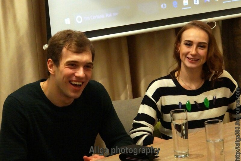 Встреча с Верой Сабанцевой и Михаилом Лифенцевым