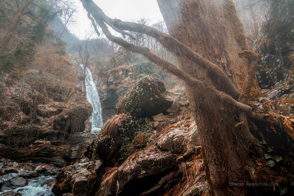 Грузинский ностальжи-трип. Водопад Гургениани.