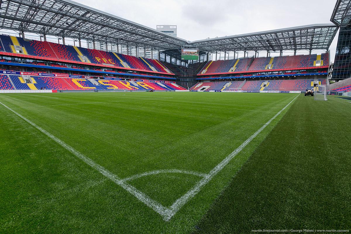 нас показать фото стадиона арена цска средних северных широтах