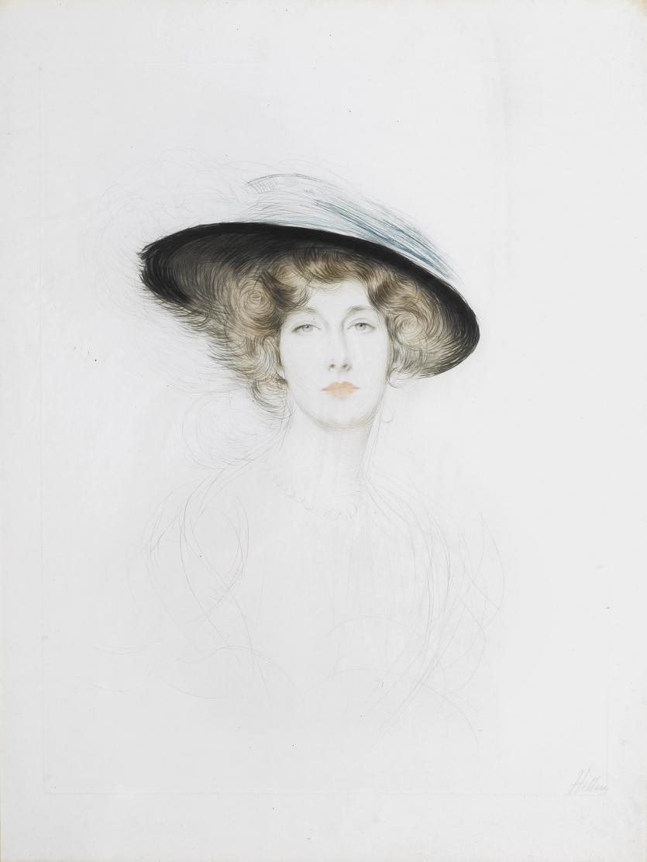 Шляпа с пером - Лиана де Пужи (Le Chapeau a plume - Liane de Pougy)