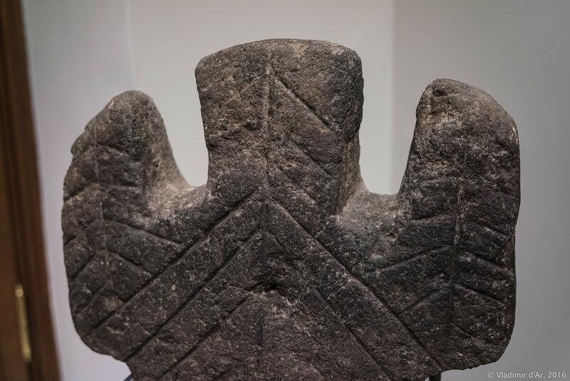 Антропоморфный идол. Кармир Блур. XIII-XII вв. до н.э. Черный туф.