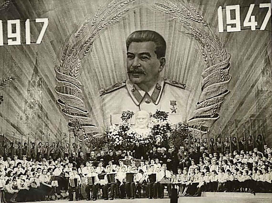 Празднование тридцатилетия Великой Октябрьской Социалистической революции в Большом Театре(2).