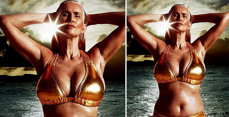 Бикини-моделью стала 56-летняя женщина
