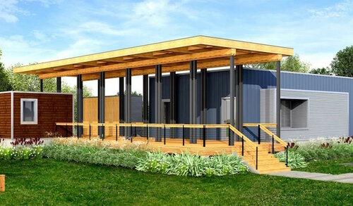 Энергоэффективные дома - Deltec
