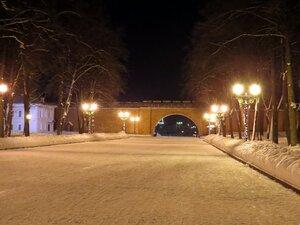 Прогулка по Кремлю - Новый год в Великом Новгороде