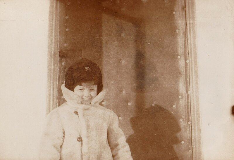 Дети зимой. 1980 год.