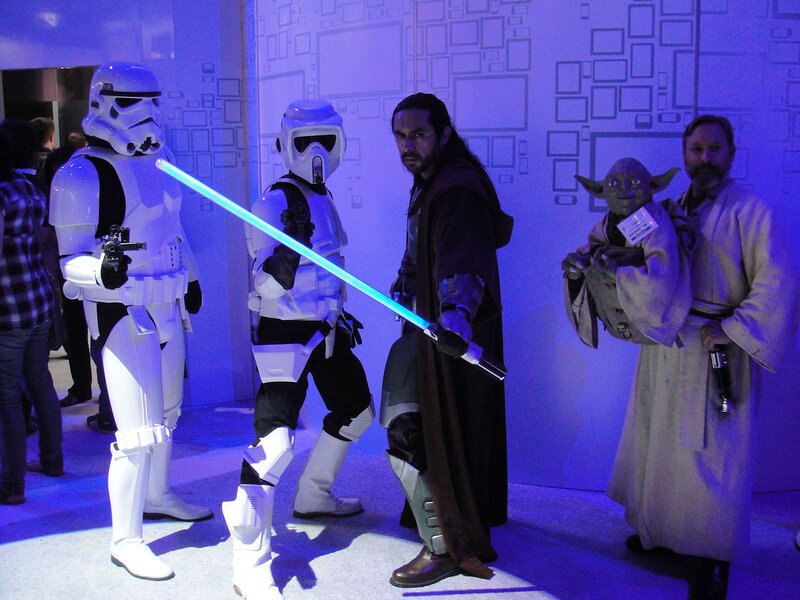E3_2011_-_Stormtroopers_and_Jedi_(EA)_(5822688132).jpg