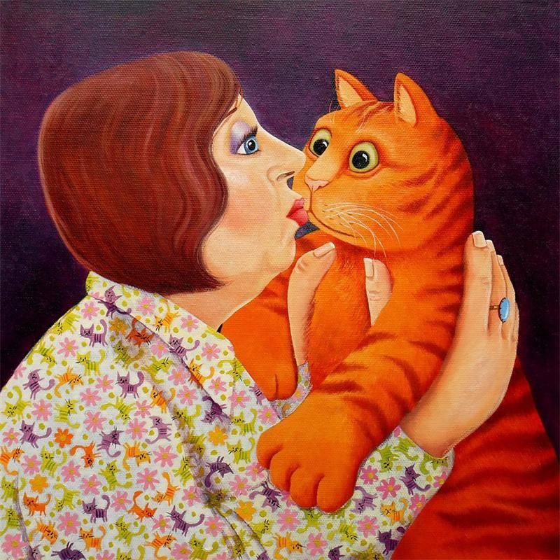 Славные кошки от художницы Вики Маунт