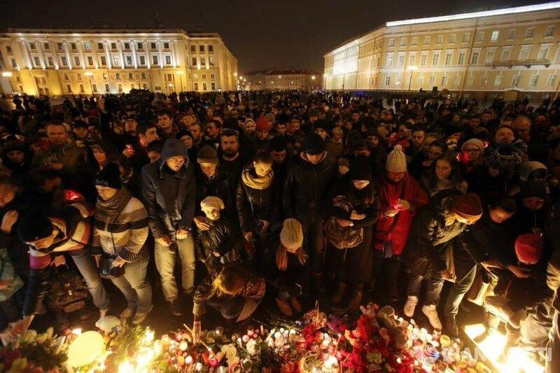 Дворцовая площадь, 1 ноября 2015