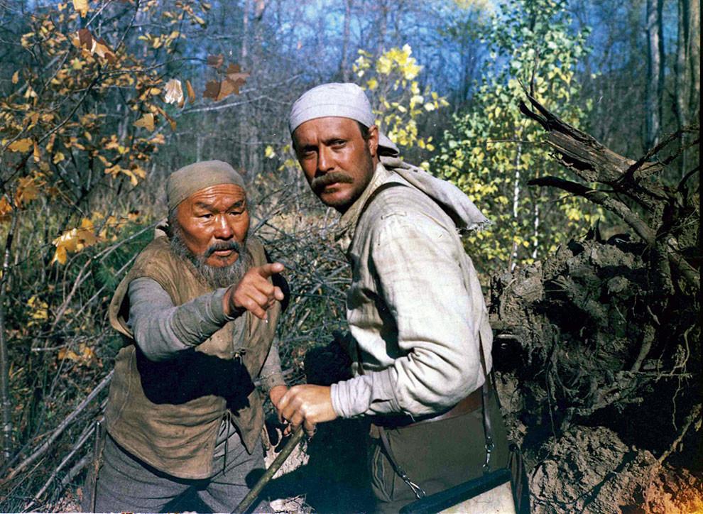 Режиссер Никита Михалков на съемках фильма «Раба любви», 1975: