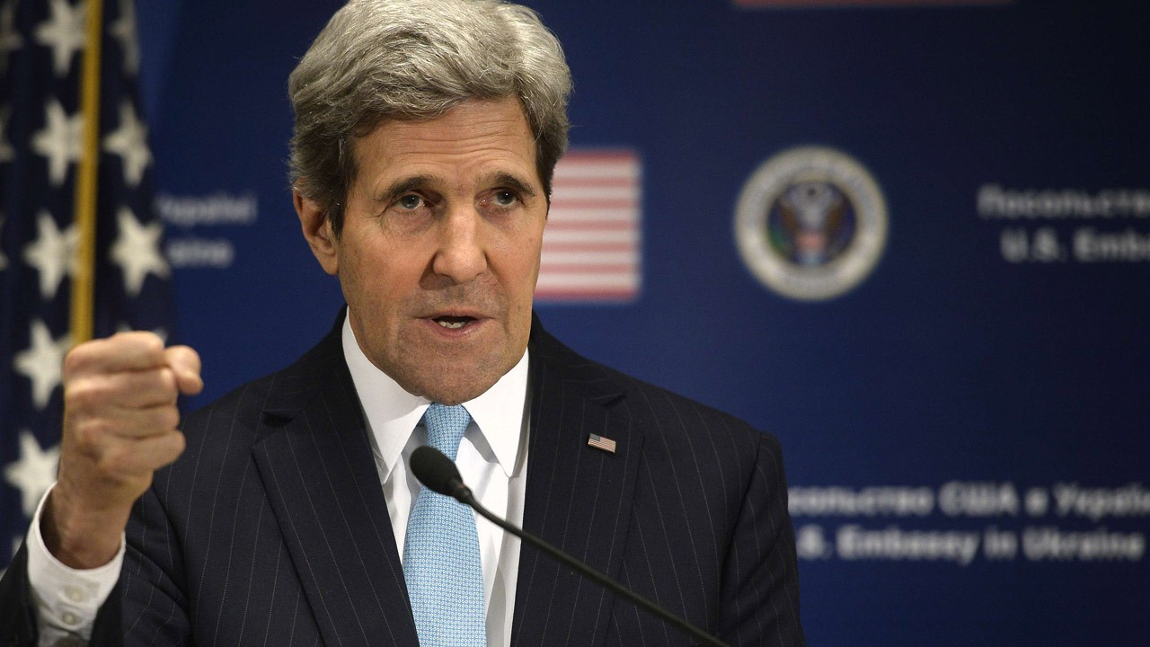Мария Захарова: Возможность визита госсекретаря США Джона Керри в российскую столицу прорабатывается