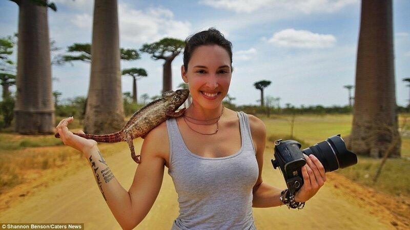 По словам 36-летней Шеннон, во время контакта с животными в большинстве случаев она сохраняет спокойствие.