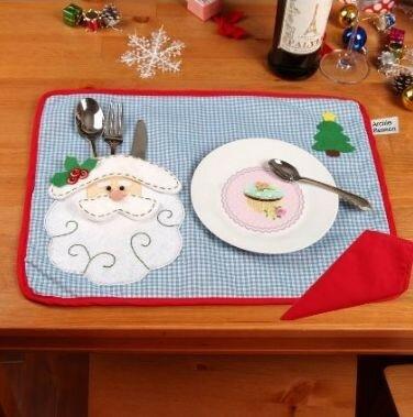 Салфетки для рождественского стола