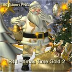 Xmas Time Gold №2