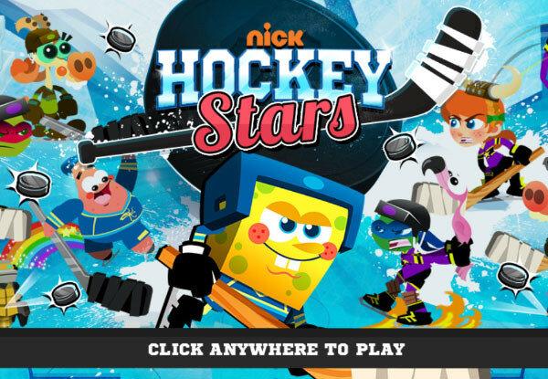 Спанч Боб Хоккей 2015 (Nickelodeon Hockey Stars)