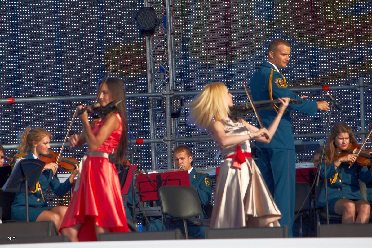 Концерт ко дню ВДВ 85
