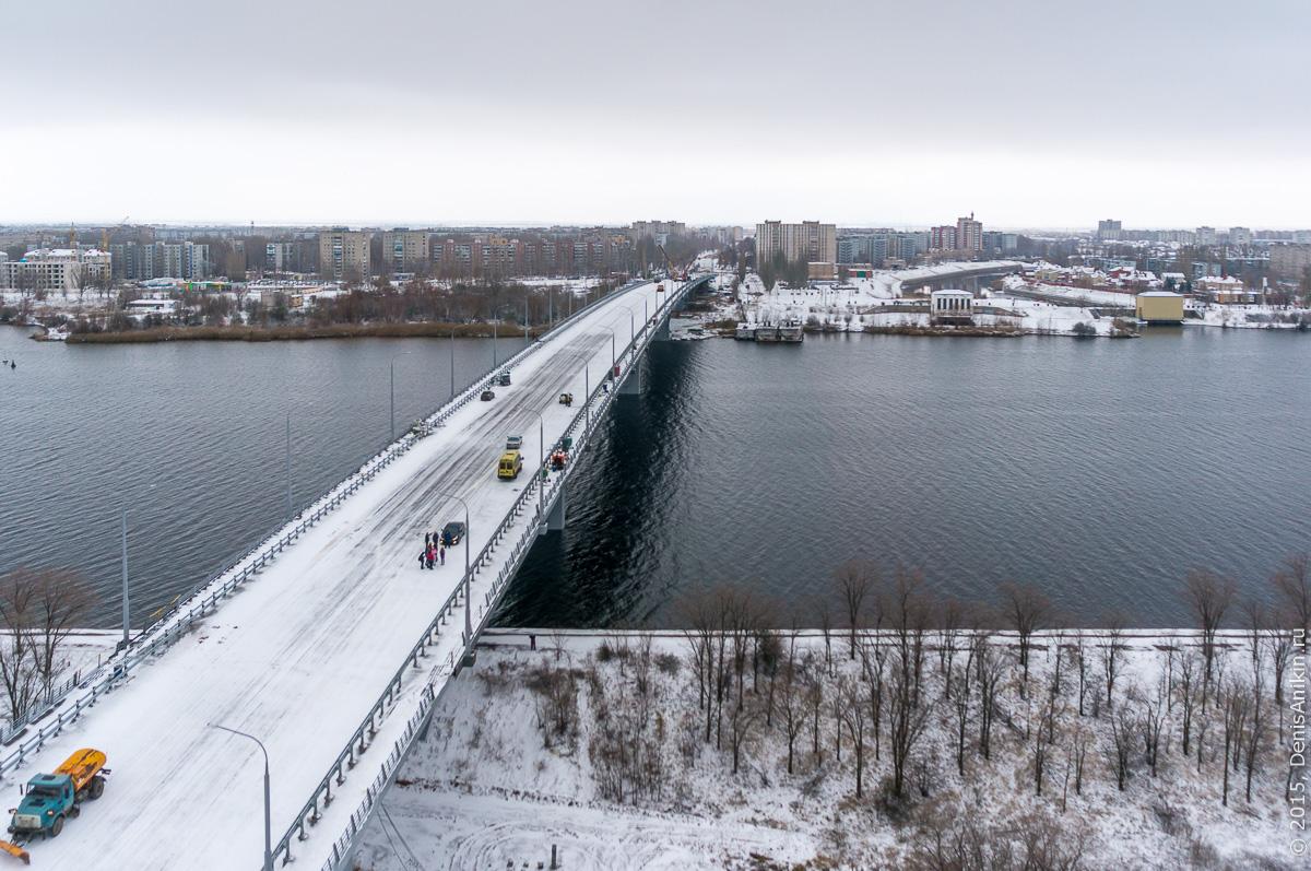 Мостовой переход через судоходный канал в Балаково 15